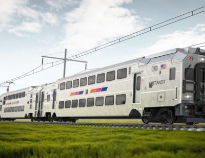 New Jersey to Get New Bombardier Multilevel III Passenger Cars