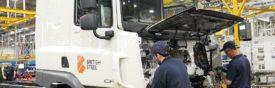 British Steel Distribution Fleet