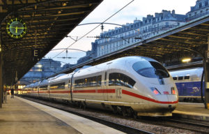 Deutsche Bahn runs cross-border rail services