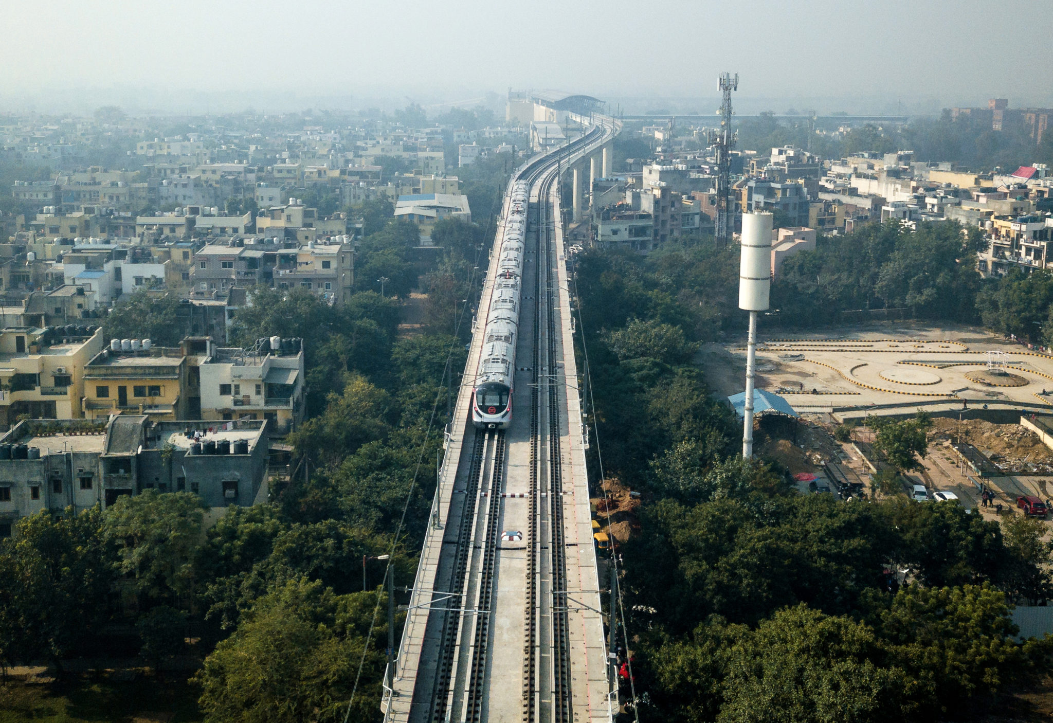 Delhi Metro Line 7 Features Bombardier CITYFLO 650 System
