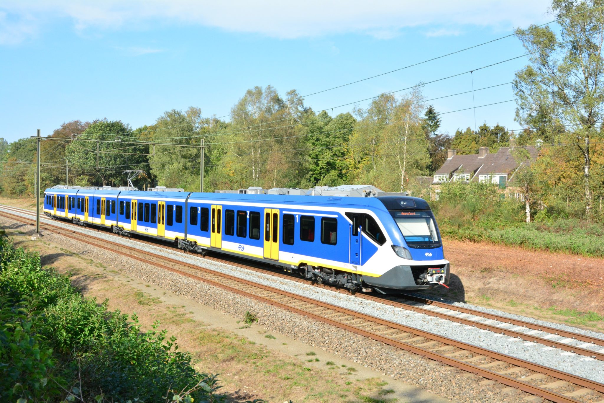 One of the CAF CIVITY trains for NS