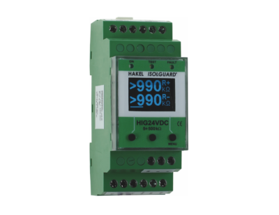 HAKEL HIG24VDC/T Insulation Monitoring Devices for Traction Vehicles