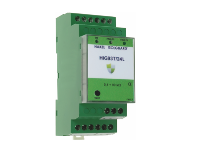 HAKEL HIG93T/24L Insulation Monitoring Devices for Traction Vehicles