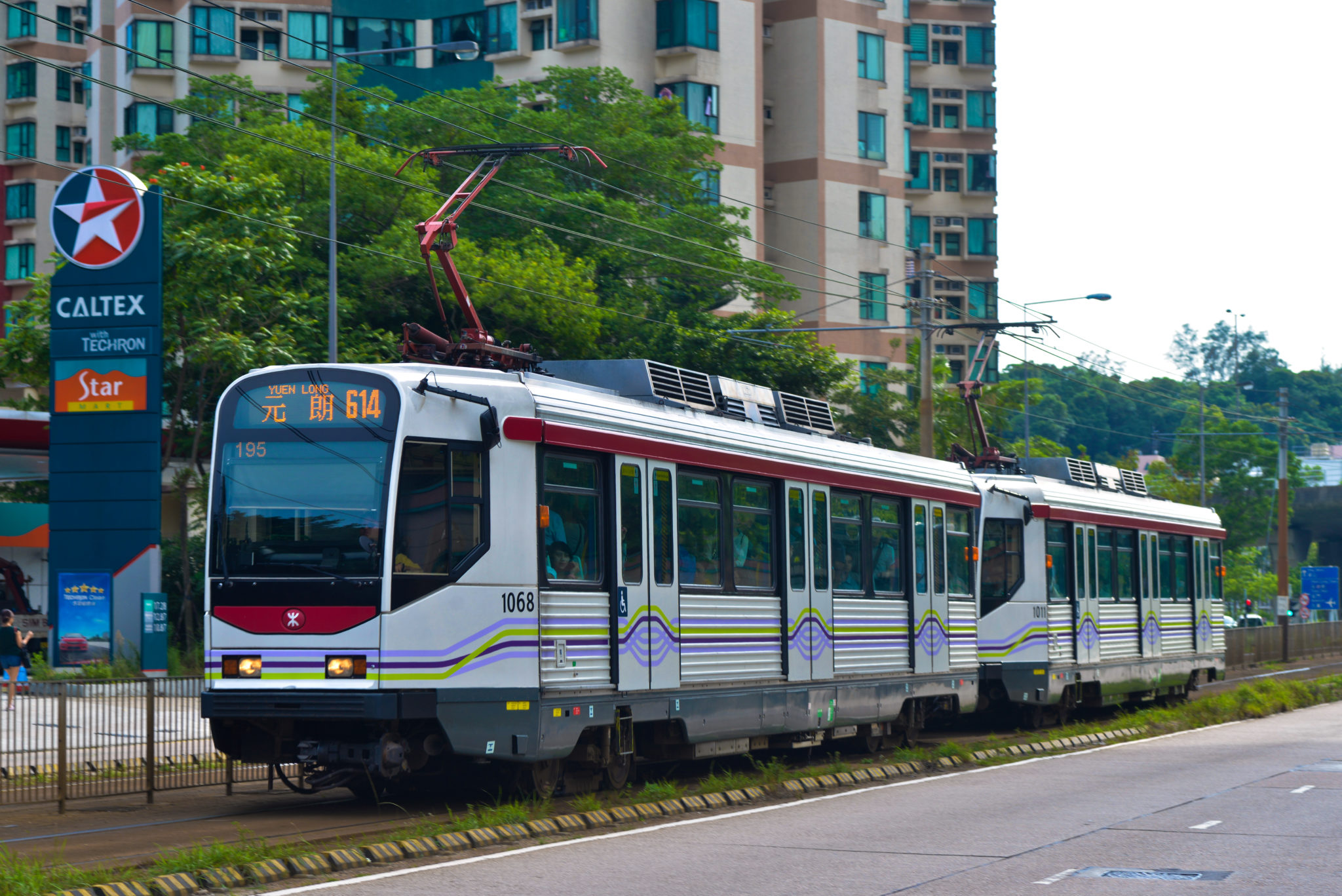 MTR receives new light rail vehicles