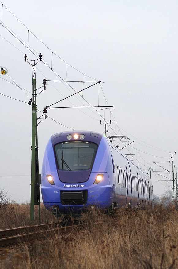 One of Alstom's Coradia Nordic regional trains