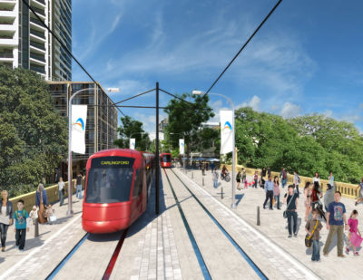 Parramatta Light Rail Contract Goes to Transdev Consortium