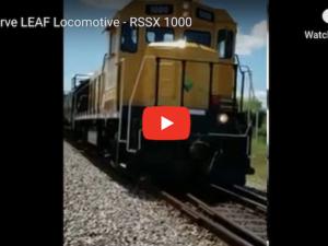 Tier 4 Genset Locomotive
