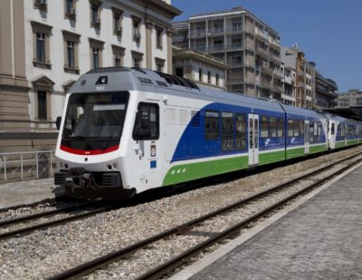 Stadler to Deliver Additional Narrow-Gauge Trains to Southeast Italy