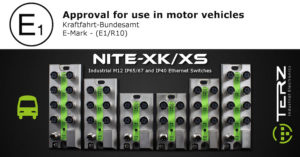 Ruggedized M12 Industrial Ethernet Switches for Rail Vehicles and Busses