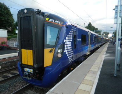 New Hitachi Class 385 Electric Train Deployed on Additional Routes