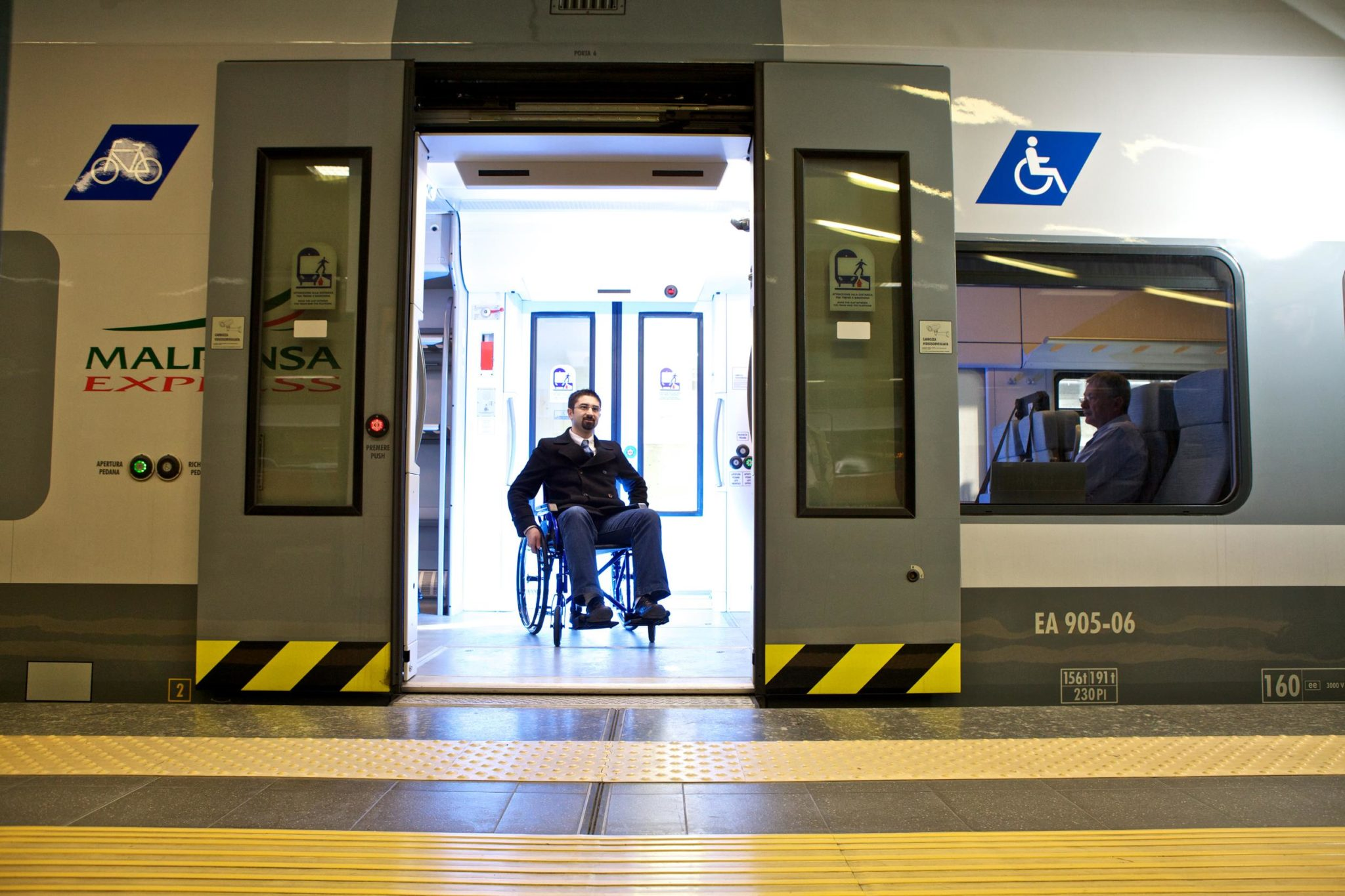 Alstom universal accessibility