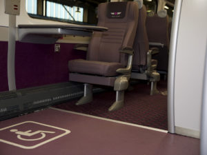 Rail Safety Flooring