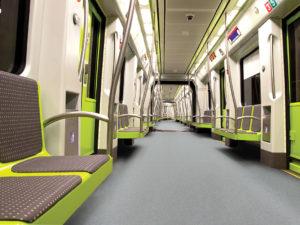 Design for rail interiors