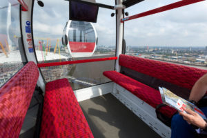 Altro Transflor Tungsten installed in the Emirates Air Line in London
