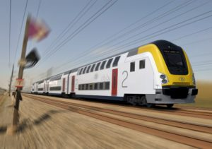 Bombardier M7 double-decker train wins design award