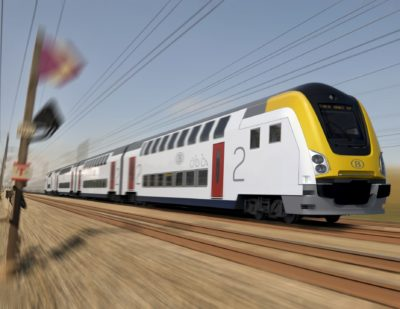 Bombardier M7 Double-Decker Train Wins Design Award