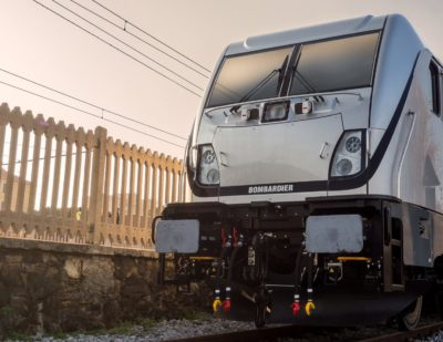 Italian National Safety Authority Authorises Bombardier TRAXX DC3 Italy Locomotive