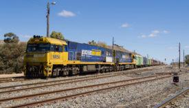 Freight Train at Broken Hill