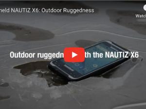 Handheld NAUTIZ X6