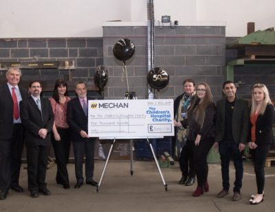 Mechan Makes Charity Donation to Mark 50th Year