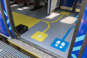 New High Performance EN45545 HL2 Compliant Rail Flooring