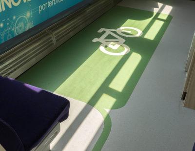 Altro Rail Flooring Rail Safety Flooring Design For