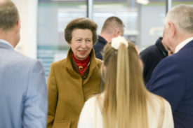 Princess Anne visits NCHSR before National Apprenticeship Week and International Women's Day