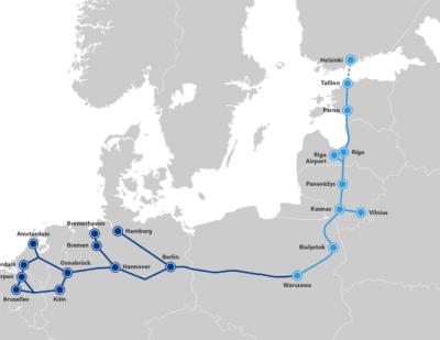 Finland to Establish Limited Company to Participate in Rail Baltica Project