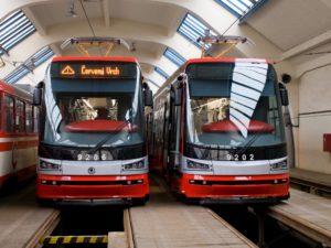 ForCity Alfa Praha tram for Prague in its original design