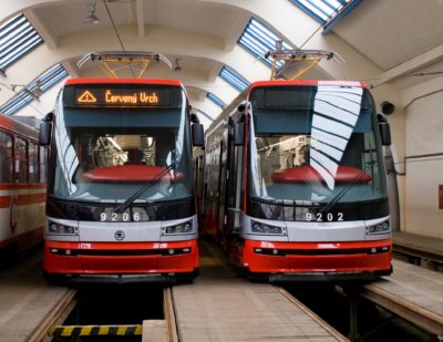 Skoda Delivers Last of 250 ForCity Alfa Praha Trams to Prague