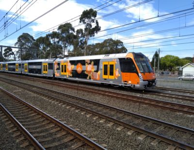 CRRC and Downer to Supply Additional Double-Decker Trains to Sydney