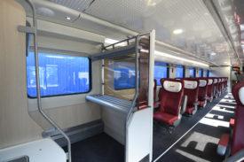 Transmashholding passenger car interior