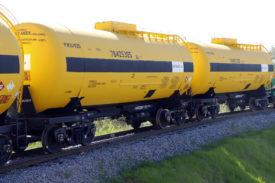 UWC methanol tank cars