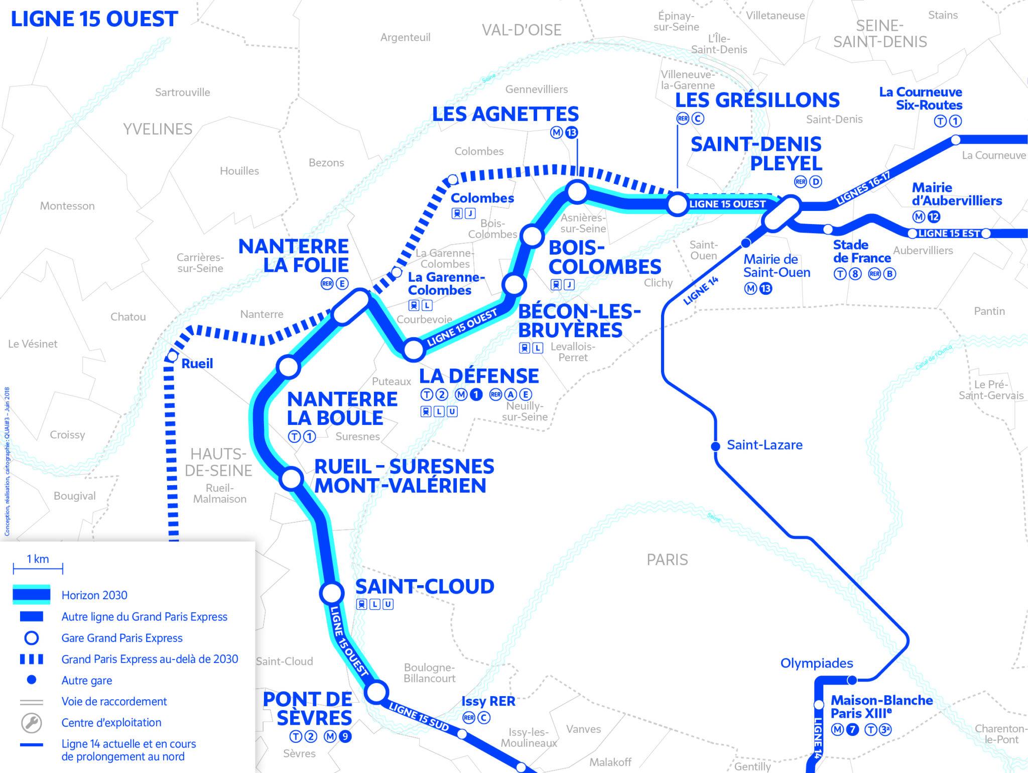 Line 15 West – Grand Paris Express