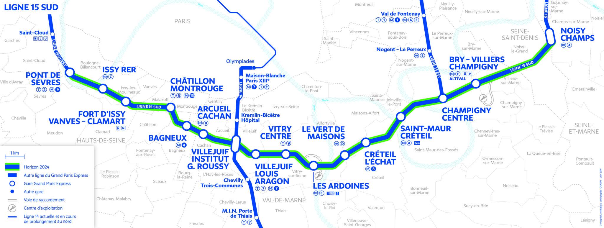 Line 15 South –Grand Paris Express
