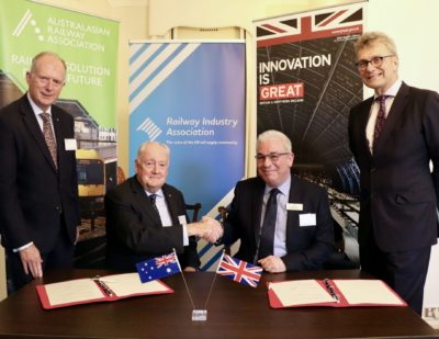 Australian and UK Railway Associations Deepen Collaboration