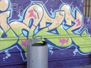 Anti-Vandalism Litter Bins