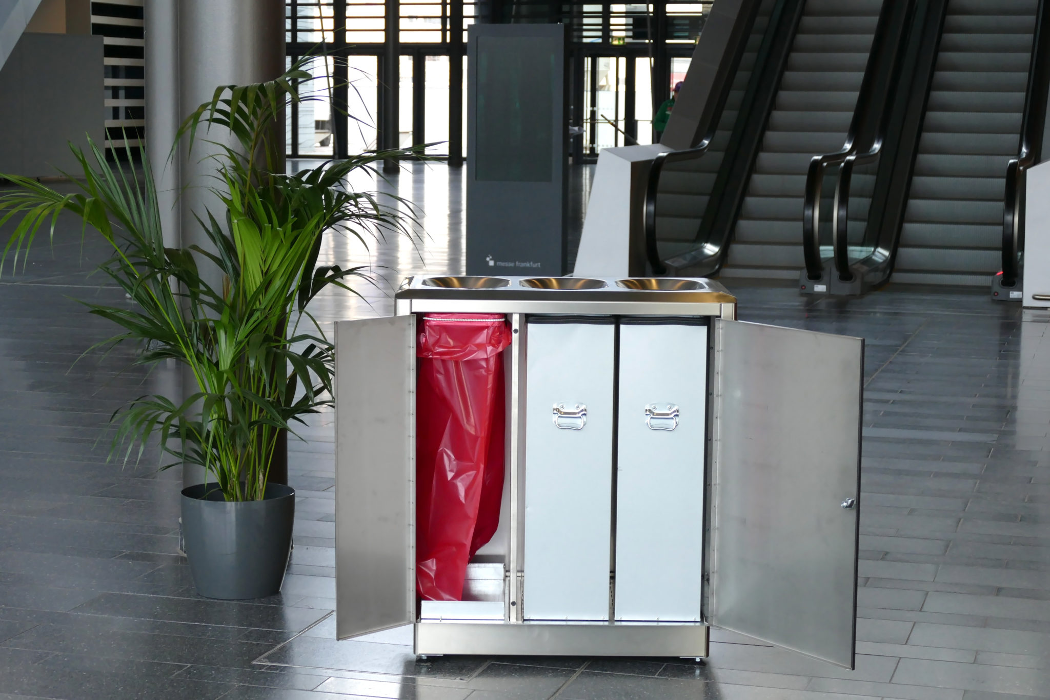 AUWEKO SKYLINE S-300 Litter and Recycling Bins