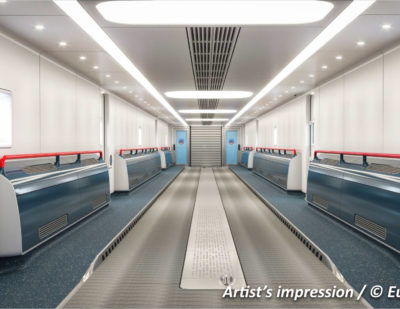 Eurotunnel Gives Bombardier PAX Shuttle Refurbishment Contract