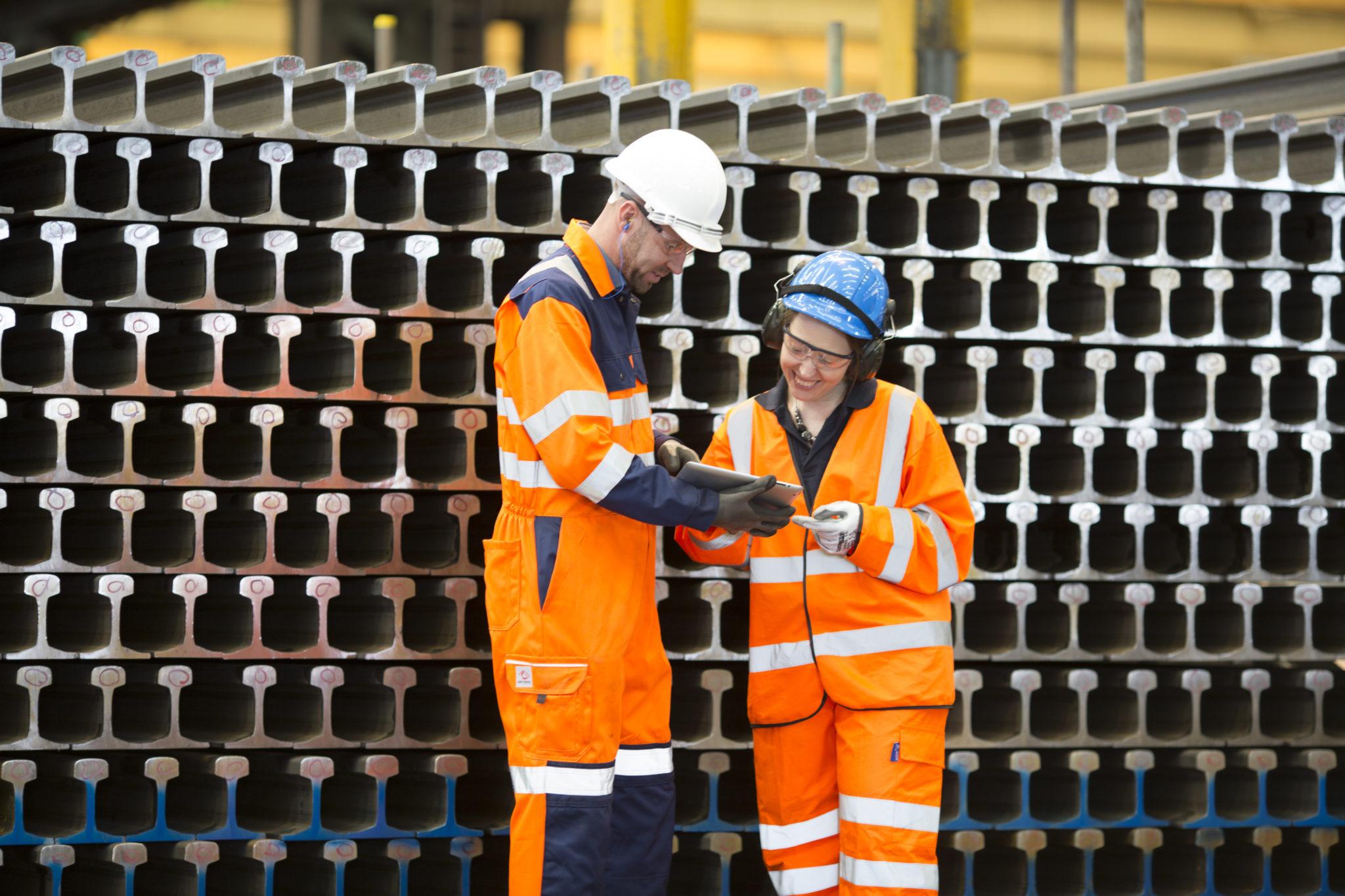 British Steel Catalonia Rail