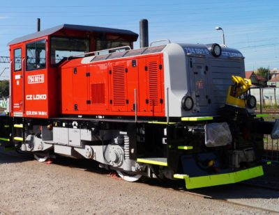 12th CZ Loko EffiShunter 300 Delivered to Czech Railways
