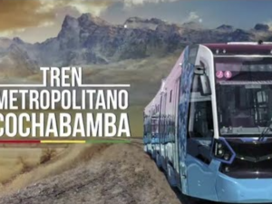 complete city tram lines in Cochabamba