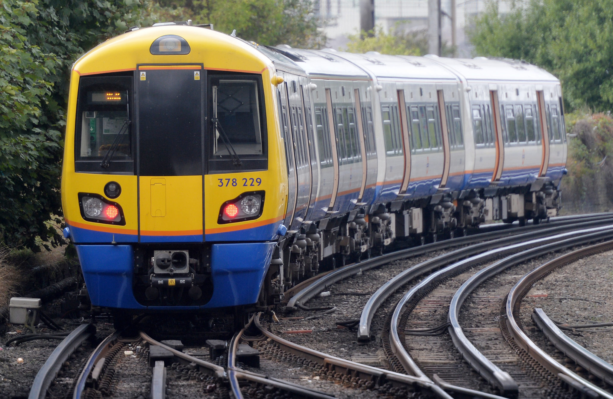 DB Arriva London Overground service