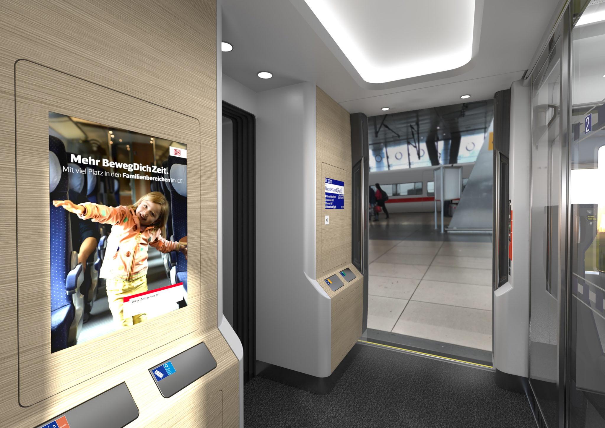 Deutsche Bahn ECx interior