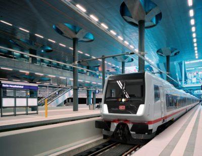 Deutsche Bahn Unveils Its New ECx Long-Distance Train
