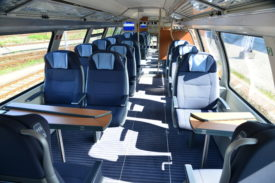 Deutsche Bahn's InterCity 2 Interior