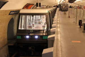 Driverless train Metro Line 1 Paris