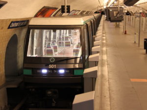 Driverless train Metro Line 1 Paris