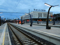 EU Transport Scoreboard Tallinn Station Estonia