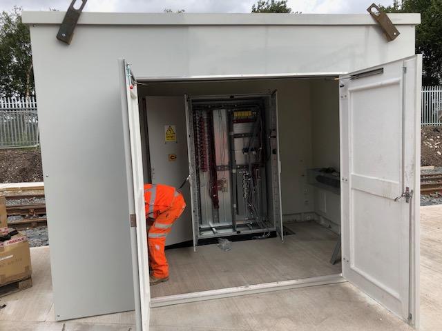 Rail Depot Control System Installation